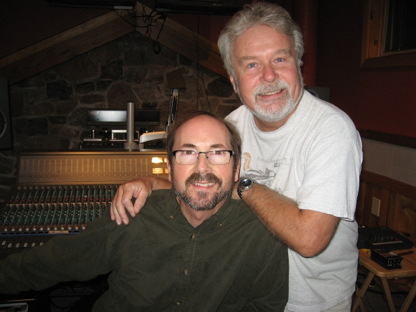 Our Producer Dave Chester with Reid