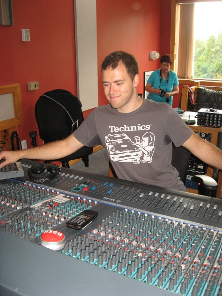 Recording Engineer Theo Posthumus