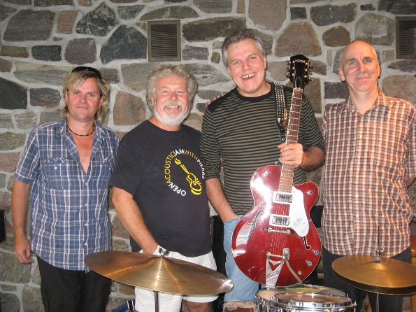 Rob Laidlaw, Reid, Wendell Ferguson and Al Cross