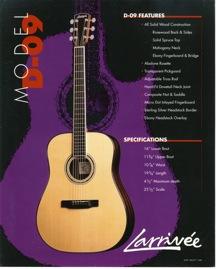 Reid's Guitar Larrivee D-09